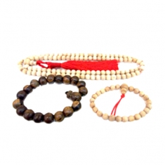 Agarwood Prayer Beads & Bracelet